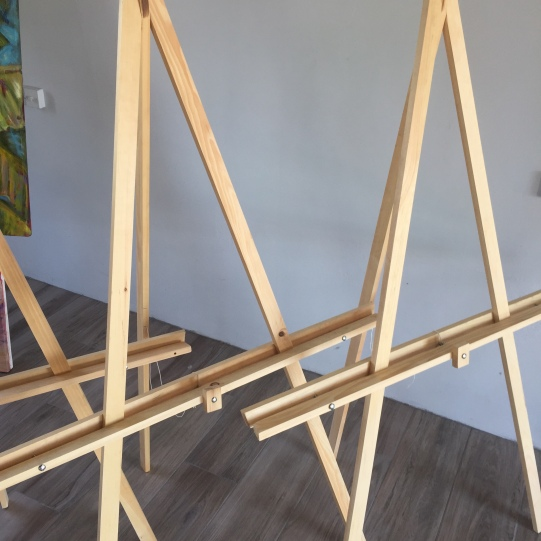 Art House Easels - $150ec or $55.50usd. Adjustable and customizable